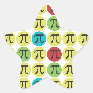 De Stickers van het Symbool van mod. Pi - de Gift