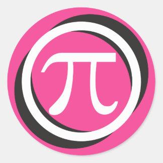 De Stickers van het Symbool van pi - de ROZE Gift
