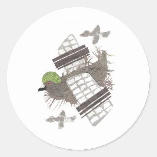 De Stickers van het Vliegtuig van de duif