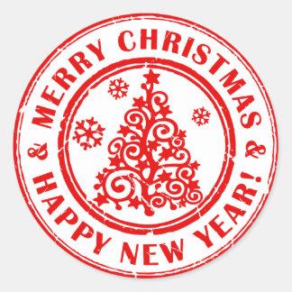 De Stickers van Kerstmis of de Verbindingen van de
