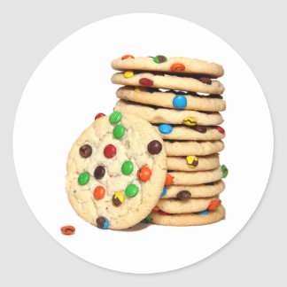 De Stickers van koekjes