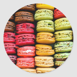De Stickers van Macaron