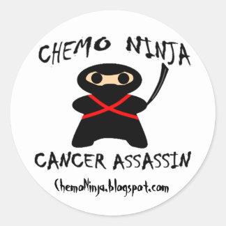 De Stickers van Ninja van Chemo