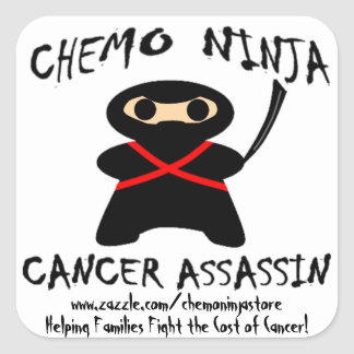 De Stickers van Ninja van Chemo!