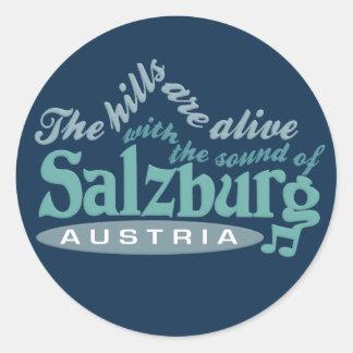 De stickers van Salzburg