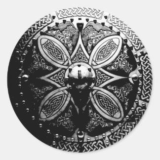 De Stickers van Targe van de broche