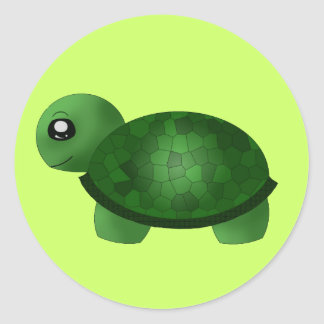 """De Stickers van """"weinig Schildpad""""/de Verbindingen"""