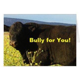 De Stier van het Boerderij van de Boerderij van de Briefkaarten 0