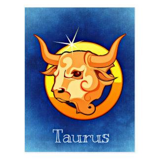 De Stier van het Teken van de astrologie Briefkaart