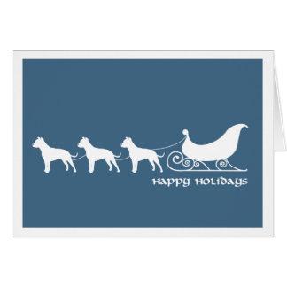De Stieren die van de kuil de Ar van de Kerstman Kaart
