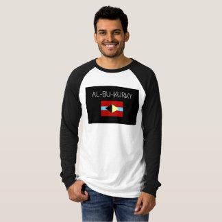 De stijl al-bu-KURKY lang sleeve van het honkbal T Shirt