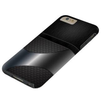 De Stijl IPhone 6 van Carbonite van Luxe plus Tough iPhone 6 Plus Hoesje