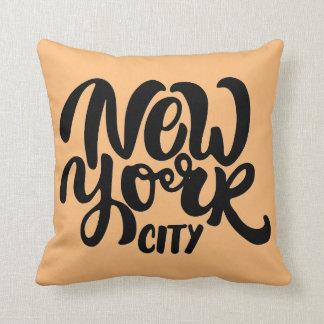 De Stijl van de Stad van New York Sierkussen