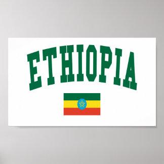 De Stijl van de Universiteit van Ethiopië Poster