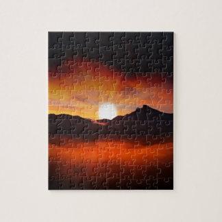 De Stijl van de Vakantie van de zonsondergang Puzzels