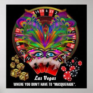De Stijl van het Casino van Vegas te bekijken Poster