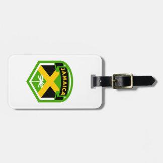 De Stijl van het Schild van de Vlag van Jamaïca Kofferlabel
