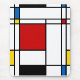 De Stijl van neo-Plasticism Mondrian Muismatten
