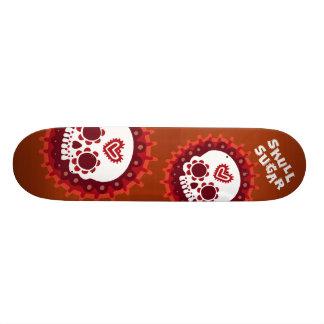 De Stijl van Skully van het schaats Skateboards