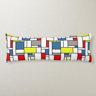 De stijlontwerp van Mondrian Lichaamskussen