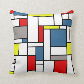 De stijlontwerp van Mondrian Sierkussen