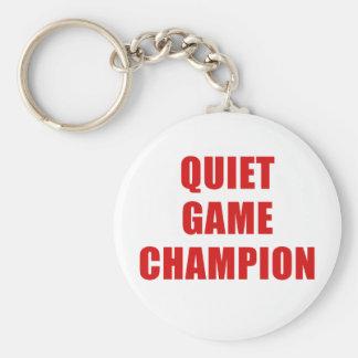 De stille Kampioen van het Spel Sleutelhanger
