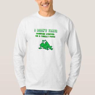De stinkende T-shirt van de Kikker