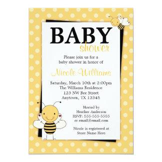 De stip stuntelt de Uitnodigingen van het Baby