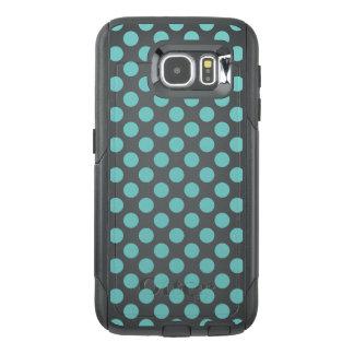 De Stippen van Aqua OtterBox Samsung Galaxy S6 Hoesje