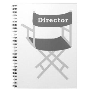 De Stoel van de directeur Notitieboek