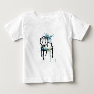 De Stoel van Hepplewhite - Waterverf Baby T Shirts