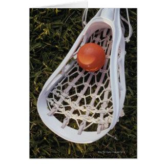 De Stok en de Bal van de lacrosse Briefkaarten 0
