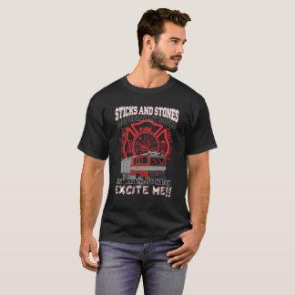 De stokken en de Stenen mogen Mijn Bot maar T Shirt