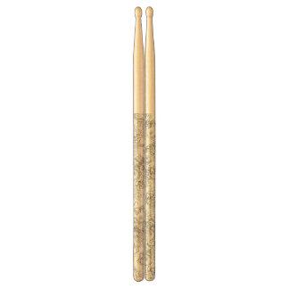 De stokken van de trommel drumstokjes