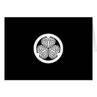 De stokroos van Owari (Shiori17) Wenskaart