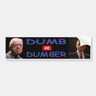 De stomme Sticker van de Bumper van Democraten