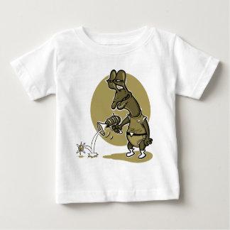 de stomme vreemde cartoon van het spruit enige baby t shirts