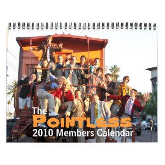De stompe Kalender van 2010 Leden