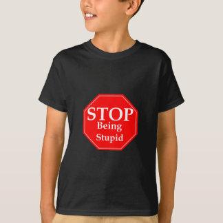 De Stompzinnigheid van het einde T Shirt