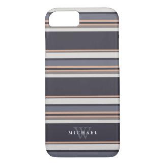 De stormachtige Naam & het Monogram van de Douane iPhone 7 Hoesje