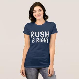 De STORMLOOP IS JUISTE Conservatieve T-shirts