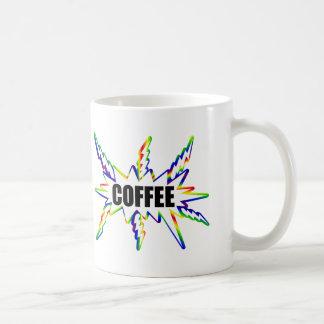De Stormloop van de koffie Koffiemok