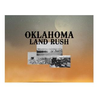 De Stormloop van het Land van ABH Oklahoma Briefkaart