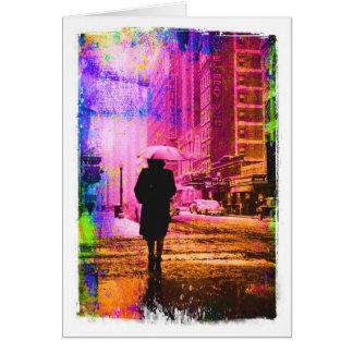 De Straat van Kansas City W. twaalfde, Kleurrijke Briefkaarten 0