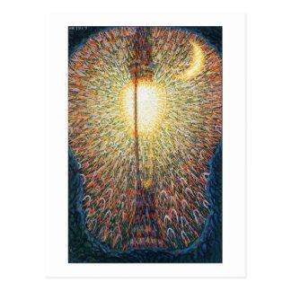 De straatlantaarn - Studie van Licht door Balla Briefkaart
