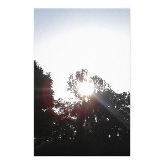De Stralen van de zon Briefpapier