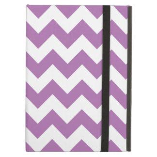 De stralende Zigzag van de Chevron van de Orchidee iPad Air Hoesje