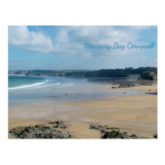 De Stranden Cornwall Engeland van de Baai van Briefkaart