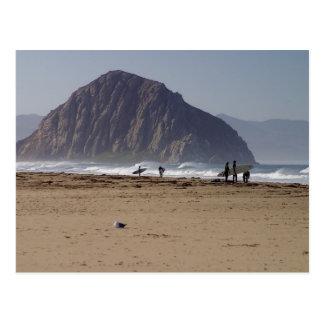 De Stranden Surfers van de Rots van Morro Briefkaart