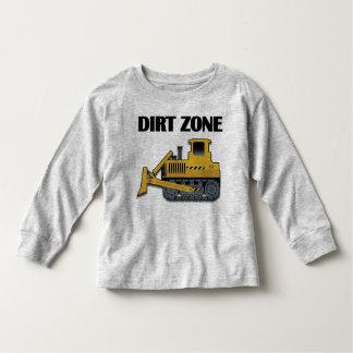 De Streek van het vuil (Bulldozer) - het Lange Kinder Shirts